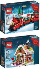 LEGO Gingerbread House 40139 & Christmas Train 40138 Bundle Gift