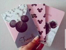 Disney Travel Notebooks Mickey Mouse Pk Of 3 Girls Ladies Mini Note Pads Primark