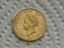 1 Dollar Gold Idianerkopf 1854 USA - selten  America  W/20/880