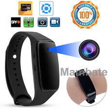 HD 1080P SPY Cam DVR Hidden Camera Wearable Wrist Watch Bracelet Video Recorder