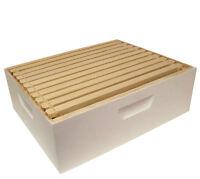 Harvest Lane Honey WWBCM-102 Medium Honey Super Box with 10 Frames & Foundations