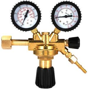 Gas Druckminderer Argon CO2 MIG MAG WIG Schutzgas Schweißgerät Druckregler