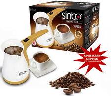 TURKISH COFFEE MAKER MACHINE, ELECTRIC COFFEE POT SINBO SCM-2928
