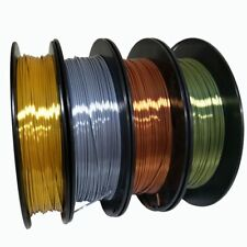 3D Printer Filament Silk PLA 4PCS 1.75mm 1KG Silk Gold Silver Copper Bronze