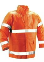 Tingley Rain Coat 3XL Comfort Brite Flame Resistant J53129 Bright Orange