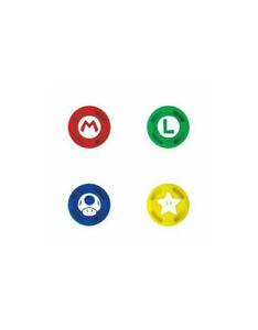 Mario Bros 4 Thumb Grips for Nintendo Switch / Lite Joy-Con Controllers