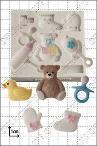 Silicone mould Baby Shower | Food Use FPC Sugarcraft FREE UK shipping!