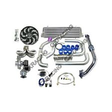 Turbo Kit For 92-00 Honda Civic D15 D16 Engine Tube & Fin Intercooler
