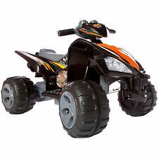 12V Kids Ride On Quad Bike Children's Electric Battery Girls Boys Toy Car ATV