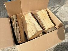 1 x Box 28kg Oak Split Logs / Log Burners Hardwood / Pizza Firewood / Fire Wood
