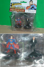HEROCLIX DCHC - Superman démarrage rapide Two Kit Kit (Superman & Lex Luthor)