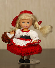 Kelly crochet handmade Red Riding Hood costume