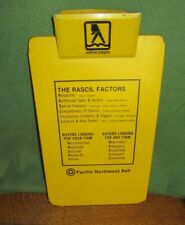 Vintage Pacific Northwest Bell Yellow Pages Clip Board