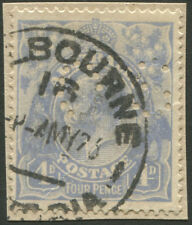 Officials - 1918-23 (SG.O74) KGV 4d Blue, perf.OS well centred, FU on piece 1926