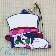 Japan Anime Blue Exorcist Ao no Darun Rubber Strap Phone Bag Charm Keychain