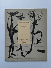 """Georges BATAILLE """" Dirty """" Fontaine 1945, 1/25 Hors Commerce, RARE E.O."""