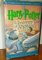 HARRY POTTER AND THE PRISONER OF AZKABAN Audio Book 7 Cassette Tape Set