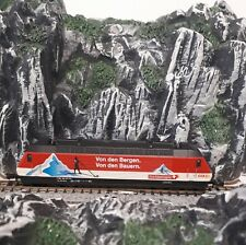 "KATO 137123 N Scale SBB class Re 460 eletric locomotive in ""Coop""  livery."