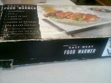 Vintage TEMPERATURE ADJUSTABLE HOT PLATE TRAY  STEEL FOOD WARMER BUFFET SERVER