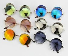 Mixed color Party Style Sunglasses 10 pairs bulk sale Brim Mirror Lens Vintage