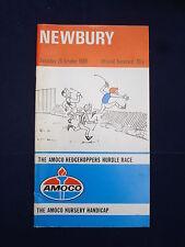X-Horse Racing-Carte raciale-Newbury - 25 octobre 1980-Amoco