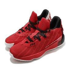 Adidas damian lillard Dame 7 gca VII Rojo Negro Blanco Zapatos de baloncesto de hombre FZ0206