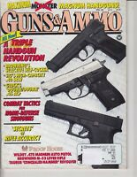 Magazine GUNS & AMMO April 1991 !! SMITH & WESSON 1950 Target Model REVOLVER !!
