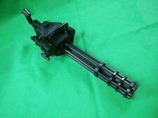 Vulcan M134 electric toy automatic gun galting minigun usmc commando prop aeg