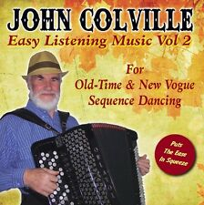 Old Time Dance & New Vogue Sequence Dancing CD John Colville Accordion Vol 2