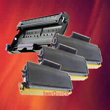 Toner Cartridge TN-650 & Drum DR-620 for Brother 4 Pack