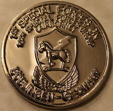 10th SFG Airborne 1st Special Forces BN Boblingen Germany Army Challenge Coin Si