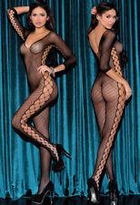 Sexy Women Lingerie Open Crotch Stretchy Mesh Socks Full Bodysuit Body stockings