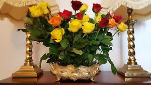 Antique Centerpiece Flower Display Vase / Jardiniere / Planter / Pot