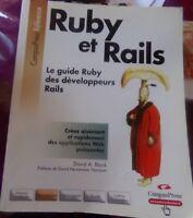 RUBY ET RAILS - LE GUIDE RUBY DES DEVELOPPEURS RAILS / 2006 CAMPUS PRESS