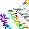 55cm Auto Sticker Frontscheibenaufkleber Slick Oil Farbwechsel Rainbow Dekor Set