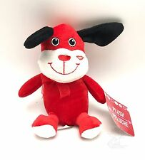 Red Dog Love Puppy Plush Stuffed Valentine 7 Inch x 4 Inch New