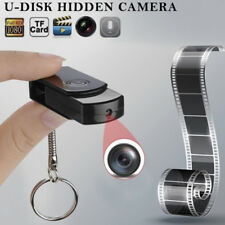 Usb drive hd hidden spy camera video recorder rechargable home security camer IE