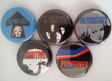 "5 x The Primitives 1"" Pin Button Badges ( band music lovely pure galore crash )"