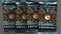 2019-20 NBA CHRONICLES UNOPENED PACK (LOT OF 4) ZION, JA MORENT, ROOKIE LUKA