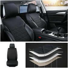 Car SUV Front Seat Cover PU Leather Universal Seat Cushion Protector Breathable