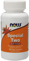 NOW FOODS Special Two Multi Vitamin - 120 Veg Caps, SHIPPING WORLDWIDE