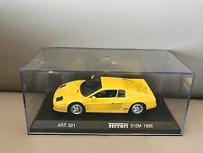 Ferrari 512M 1995 yellow scale 1:43 Detail Cars NEW in Box !!