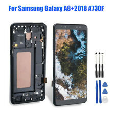 For Samsung Galaxy A8+2018 A730F LCD Touch Screen Digitizer Assembly Replace REL