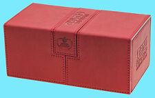 ULTIMATE GUARD TWIN FLIP n TRAY RED 200+ CASE XENOSKIN Standard Size Card Box