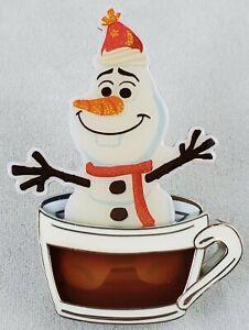 TDR Tokyo Disney Resort Olaf in Hot Chocolate pin 112518 cocoa Frozen Anna Elsa