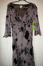 Citrine Polyester Lined Silk Blend Dress, Size 14, NEW WITH TAGS