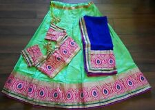 Indian Pakistani Ethnic Bollywood Designer Traditional  Lehenga Chaniya Choli