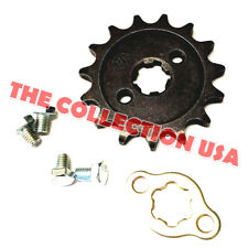 New #420 Chain Front Pinion Sprocket With 15 Teeth For Atv, Dirt Bike, Go Karts
