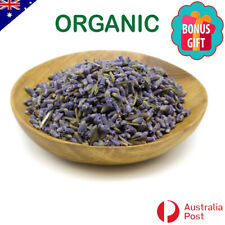 Organic Dried Lavender Flowers Lavendula angustifolia : Free delivery & gift