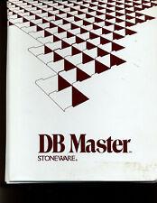DB Master database software for Apple II+/e